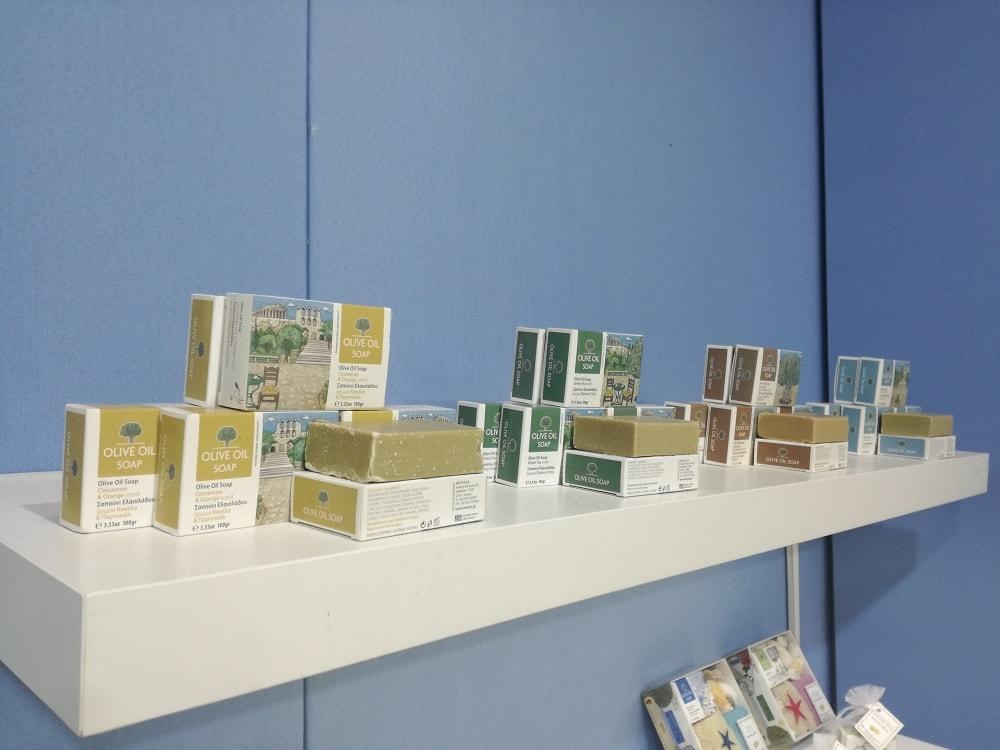 Αρωματικά σαπούνια ελαιολάδου - nectus (expo)