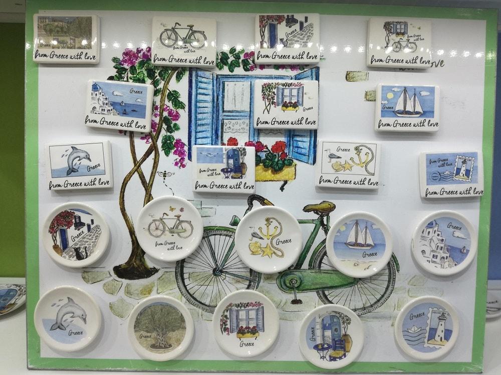 Μαγνητάκια & πιατάκια τοίχου - Νectus (expo 2018)
