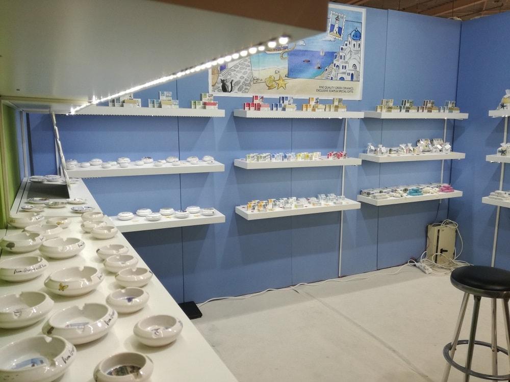 Ελληνικά κεραμικά -σαπούνια- είδη δώρων (Εxpo 2018) - Nectus